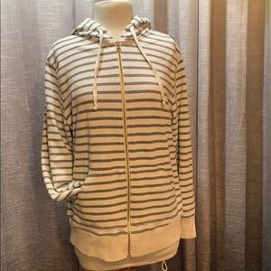 Old Navy striped hoody size XL